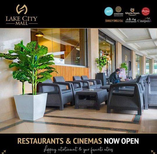 Restaurants & Cineplex Lake City Lahore-min