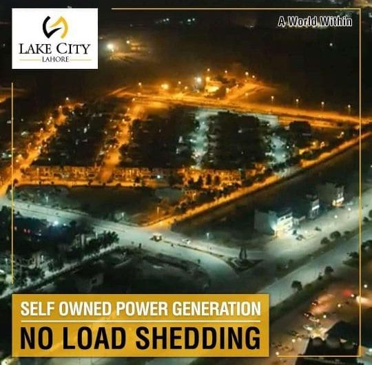 Self Owned Power House Lake City Lahore-min